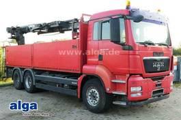 platform vrachtwagen MAN TGS 26 /6x4/Kran HIAB 166K/AHK 2010