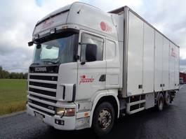 bakwagen vrachtwagen Scania R124 6X2 4700 2003
