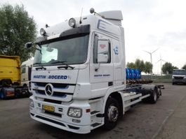 wissellaadbaksysteem vrachtwagen Mercedes-Benz Actros 2541 LENA 2009