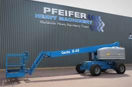 telescoophoogwerker wiel Genie S45/4WD Valid inspection, *Guarantee! Diesel, 4x4 2014