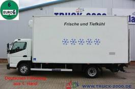 koelwagen vrachtwagen FUSO Canter 9C18 Tiefkühl Frischdienst inkl. LBW 1.Hd 2017