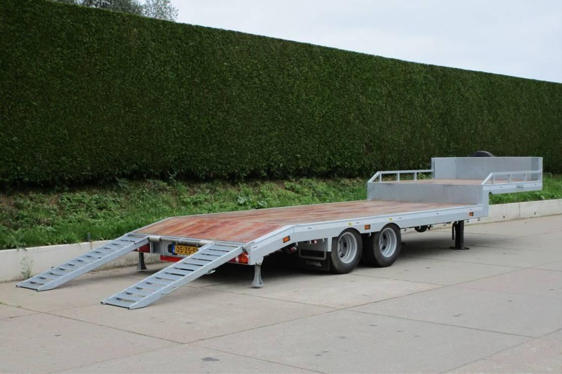 semi dieplader oplegger Veldhuizen 10,0-tons Semi-dieplader oplegger 2021