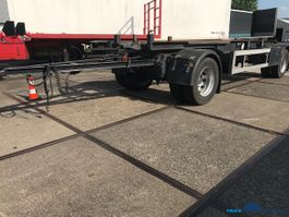 container chassis aanhanger GS Meppel Container aanhanger 2 axle AIC-2000 N 2005