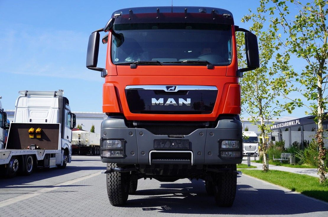 chassis cabine vrachtwagen MAN TGS 41 8x6 BB / EURO 5 / FACTORY NEW 2021