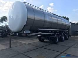 tankoplegger Burg BPO 13-30 RCZXX Inox Foodtanker 33.000 litre pump 2000