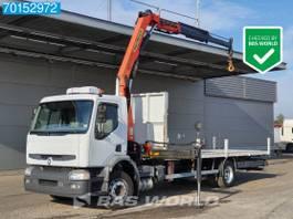 platform vrachtwagen Renault 200 4X2 Manual Standklima Euro 3 Palfinger PK10000 2004
