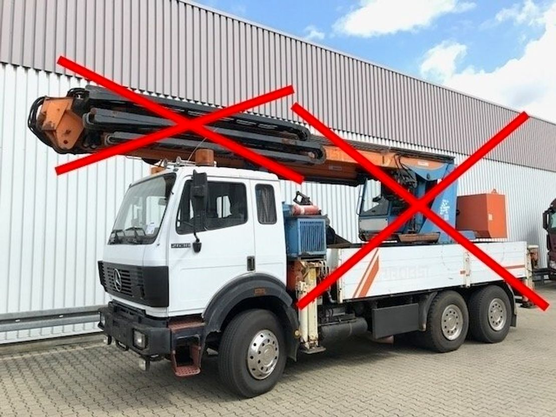 chassis cabine vrachtwagen Mercedes-Benz 2638 K 6x4 2638 K 6x4 NSW/1x Komfortsitz 1993