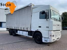 schuifzeil vrachtwagen DAF XF 380 Manual  6x2  euro 2 2000