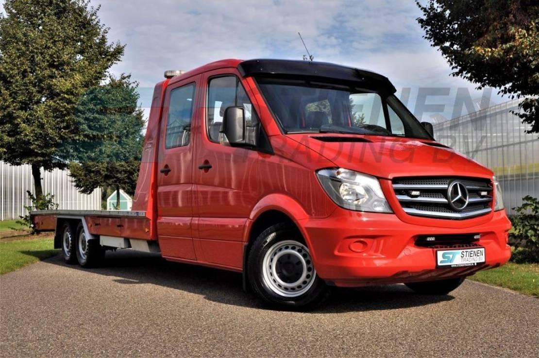 takelwagen-bergingswagen-vrachtwagen Mercedes-Benz Sprinter 319 Algema Blitz 2010