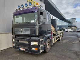 containersysteem vrachtwagen MAN TGA containersysteem + Atlas Terex 190.2E 2002