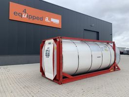 tankcontainer Van Hool 20FT, swapbody TC 30.856L, L4BN, IMO-4, valid 5y inspection: 11/2023 1999