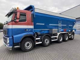 bandlosser vrachtwagen Volvo 10x4  TrailKing / Trouth River Bandlosser, Asfalt/Grind/Zand Like NEW !!! FH420 2012