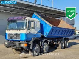 kipper vrachtwagen MAN 35.402 8X6 Manual Big-Axle Steelsuspension Euro 2 1995