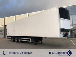 koel-vries oplegger Pacton Heiwo / 3as BPW Stuur+Liftas / Carrier Reefer / Laadklep 2500 kg / APK TUV 2007