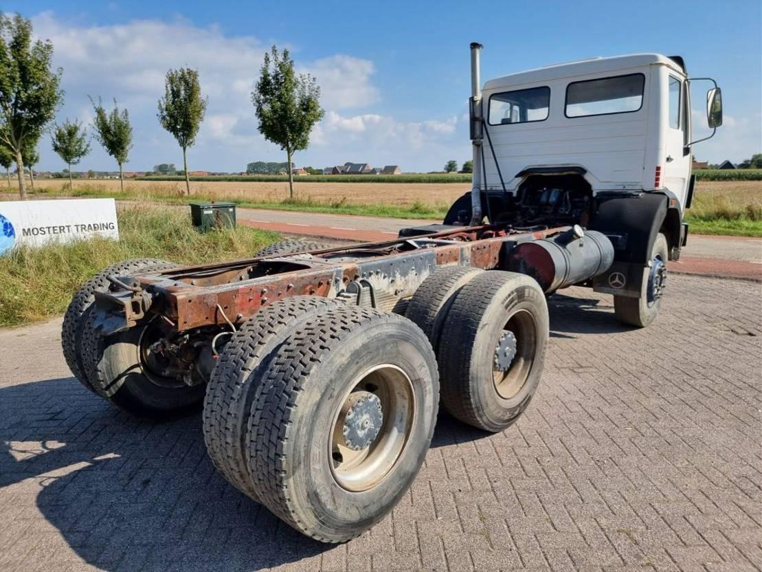 chassis cabine vrachtwagen Mercedes-Benz SK 2629 V8 6x4 1995