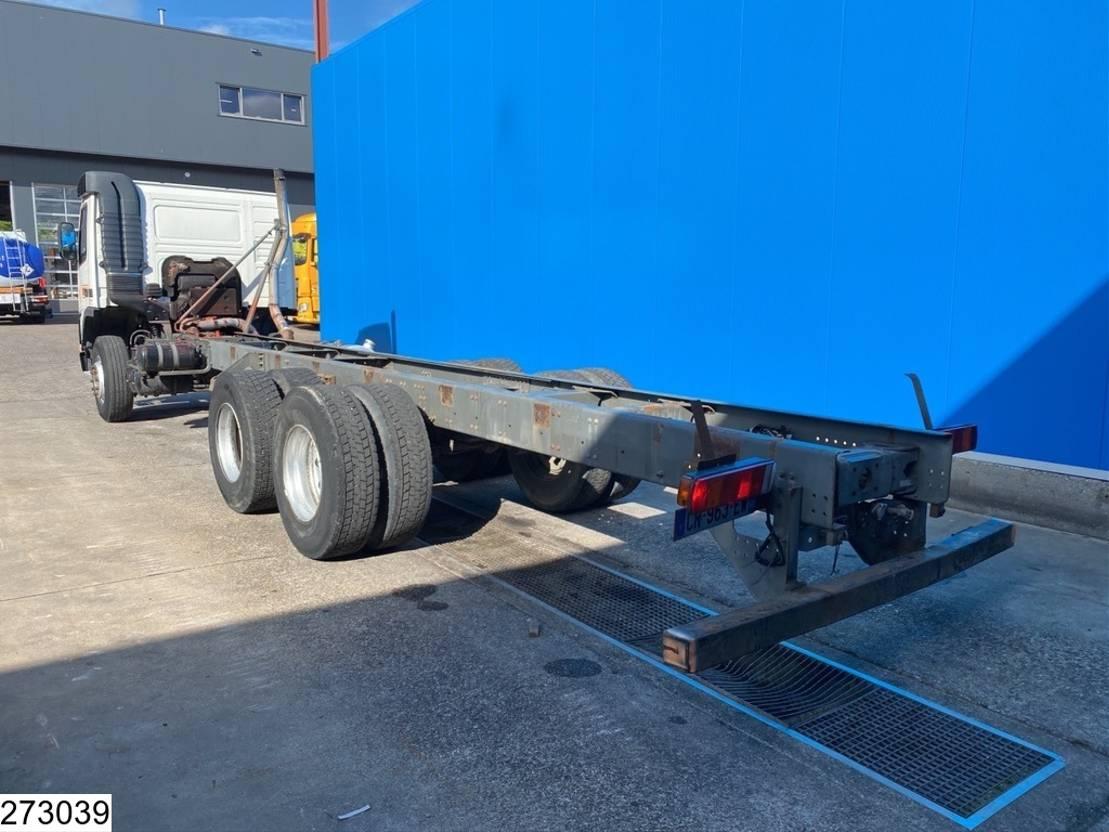 chassis cabine vrachtwagen Volvo FM 7 6x2, EURO 2, Manual, Steel Suspension 2001