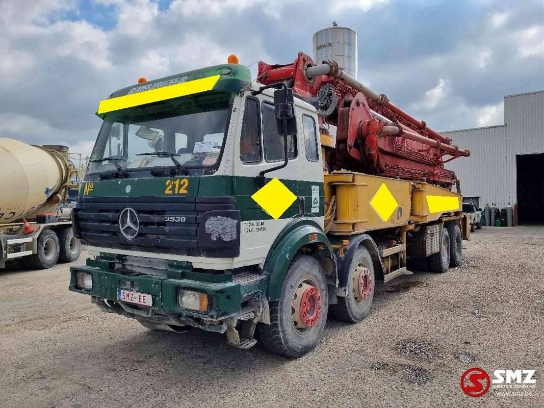 betonpomp vrachtwagen Mercedes-Benz SK 3538 Putzmeister 42 M 1995