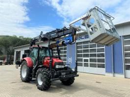 zaaimachine Case Maxxum 125 Traktor Kran + Arbeitskorb + Bohrger. 2016