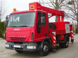 autohoogwerker vrachtwagen Iveco EuroCargo 75 75E15 4x2 Palfinger BISON TKA 16 2005