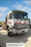 kipper vrachtwagen Iveco Turbostar 190 6X2 26 ton air con left hand drive. 1990