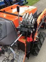 standaard tractor landbouw Kubota GL261 met frontlader