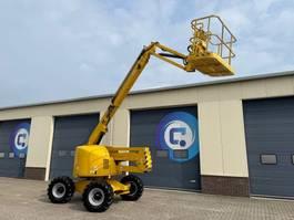 knikarmhoogwerker wiel Haulotte HA 18 PX 4X4 Articulating boom - Knikarmhoogwerker - Arbeitsbuhne - 18 Meter !! 2000