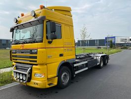 containersysteem vrachtwagen DAF XF 105 FAS105.410 HAAKARM HIAB 20 TON 2010