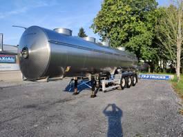 tankoplegger Magyar citerne en inox isotherme 4compartiments 29000L