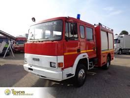 brandweerwagen vrachtwagen Iveco 135-17 Manual + Firetruck 1990