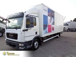 bakwagen vrachtwagen MAN TGL 12 + Manual + Dhollandia 2012