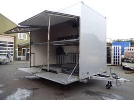 bakwagen aanhangwagen VAN Weel VW3500L 2 As Tandemas Gesloten - Wipkar Gesloten - Fietsen Aanhangw... 2009