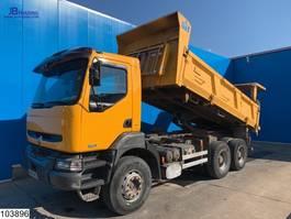 kipper vrachtwagen Renault Kerax 420 6x4, Manual, Steel suspension 2004
