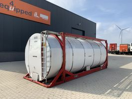 tankcontainer Van Hool 20FT swapbody TC 30.856L, L4BN, IMO-4, valid 5y inspection: 01/2023 1999