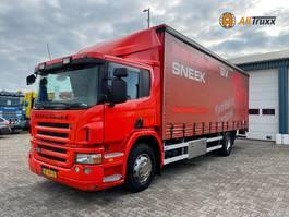schuifzeil vrachtwagen Scania P230 4X2 NL truck 2007