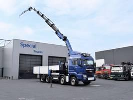 open laadbak vrachtwagen MAN TGS 35 8x6 + Palfinger PK34002-SH E + Flyjib PJ060 B 2014