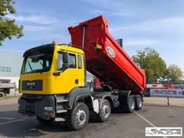 kipper vrachtwagen MAN TGA 41 Full steel - Manual - Meiller - Good condition 2007
