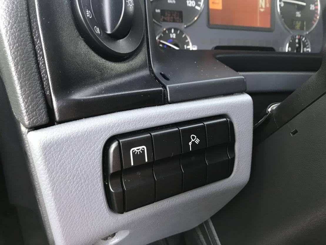 chassis cabine vrachtwagen Mercedes-Benz Actros 2532 *Bluetec5*Bluetooth*V6*Extra stabilisator 2013