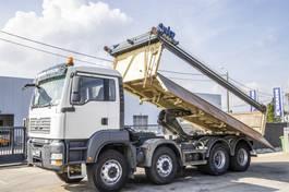 kipper vrachtwagen MAN TGA 35 BB - 8X4 2007