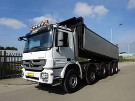 kipper vrachtwagen Mercedes-Benz ACTROS 5041 10X4 / EURO 5 / KIPPER + KLEPPEN  / HOLLAND TRUCK / KEURING / TUV / PERFECT CONDITION !! 2013