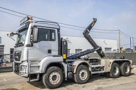 containersysteem vrachtwagen MAN TGS 35 BB - AJK 2015