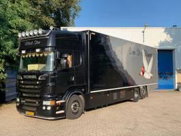 bakwagen vrachtwagen Scania R500 V8  2011