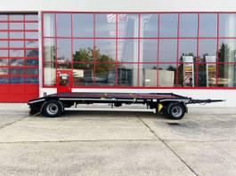 overige vrachtwagen aanhangers Huffermann HPA 20.72 2 Achs Kombi- Tieflader für Abrollmulden und Baumaschinenwenig... 2019