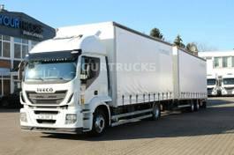mega-volume vrachtwagen Iveco Stralis 360 EEV /Durchlade/Jumbo ZUG 2013