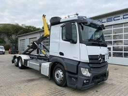 containersysteem vrachtwagen Mercedes-Benz Actros 2545 6x2 LL E6 Abrollkipper Palfinger T22 2019