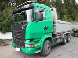 kipper vrachtwagen Scania R580 2015