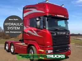 standaard trekker Scania R730 V8 Full Air suspension inkl. hydr. system and Compressor System for silo Transport 2016