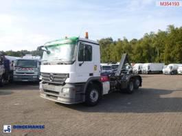 containersysteem vrachtwagen Mercedes-Benz Actros 2544 6x2 container hook 14 t 2009