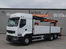 open laadbak vrachtwagen Renault Premium 460 DXI, 6x2, Atlas 170.2 2012