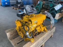 industriële motor M2 C5 Twindisc 11 PK Marine motor met keerkoppeling