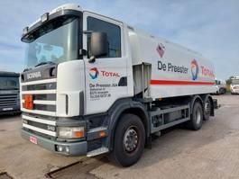 tankwagen vrachtwagen Scania G340 REF 734 2002